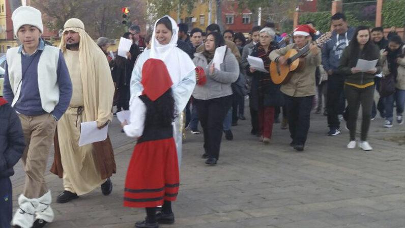 La Delegación de Migraciones celebra 'las Posaditas'