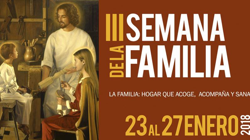 El Arzobispo inaugura la III Semana de la Familia