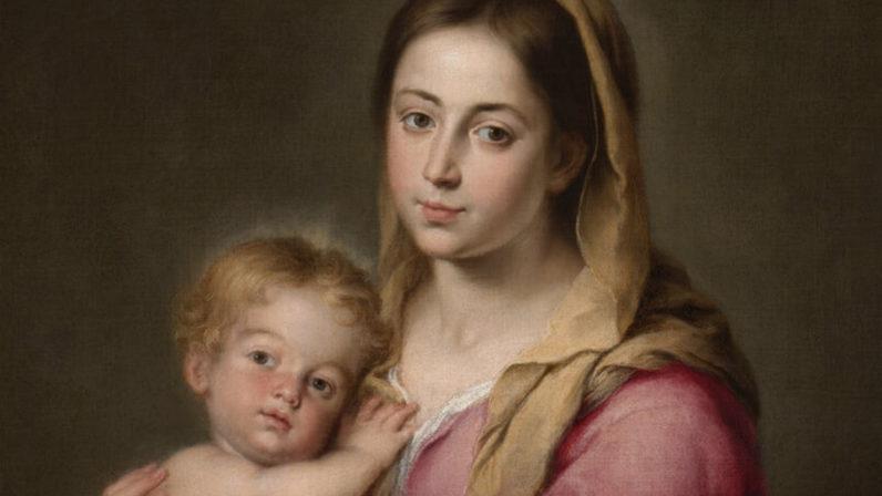 ¿Cómo son los ojos de la Virgen?