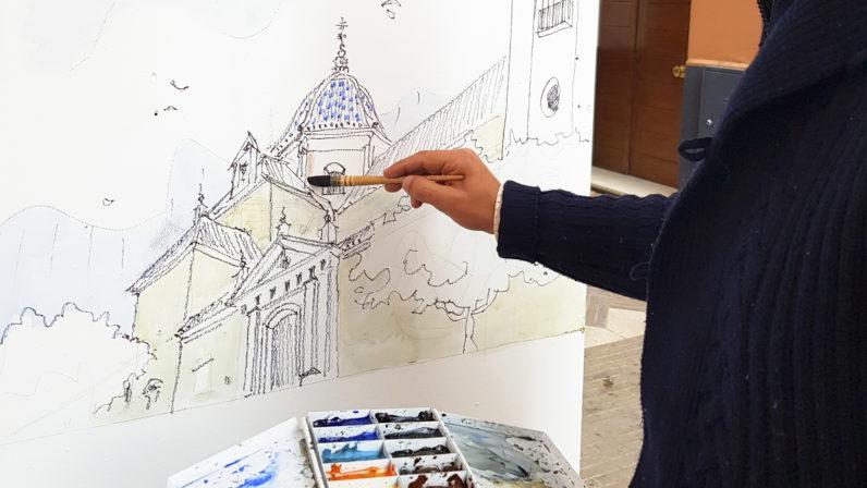 """Arte urbano para """"mirar, dibujar y compartir"""" San Bartolomé"""