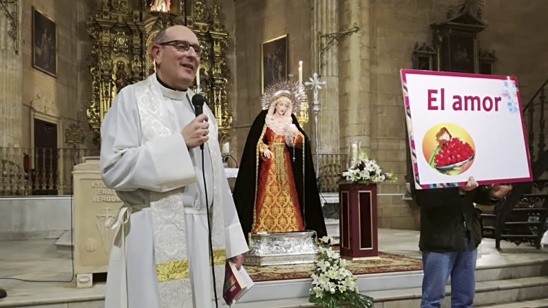 Segundo pregón misionero en la Parroquia de Santiago, de Alcalá de Guadaíra