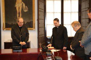 Nombramiento del nuevo Vicario Judicial
