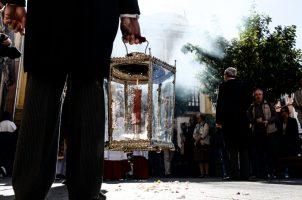 Procesión de impedidos de la Sacramental del Sagrario 2018