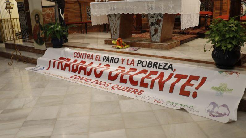 Acción conjunta contra el paro en la Parroquia de Ntra. Sra. del Carmen