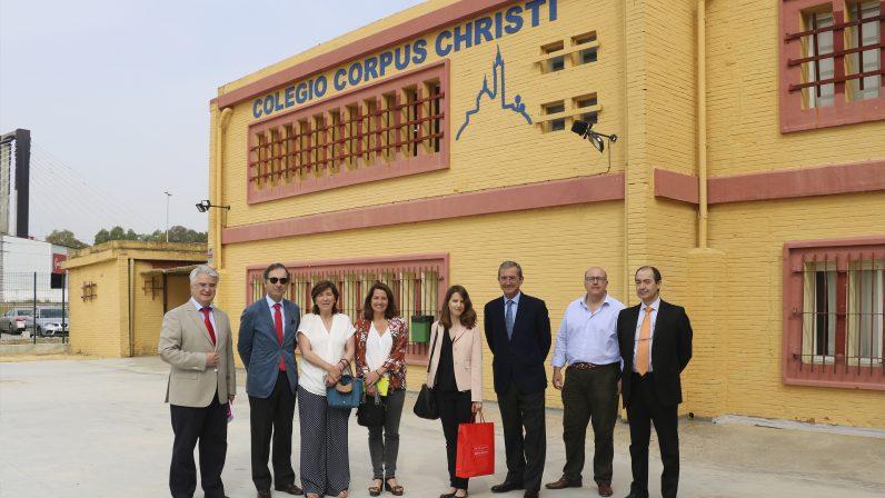 El colegio diocesano Corpus Christi presume de nuevo mobiliario