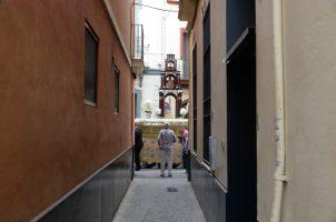 Procesión sacramental en San Ildefonso