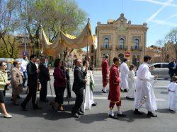 Domingo eucarístico en la Parroquia de Ntra. Sra. del Juncal (Sevilla)