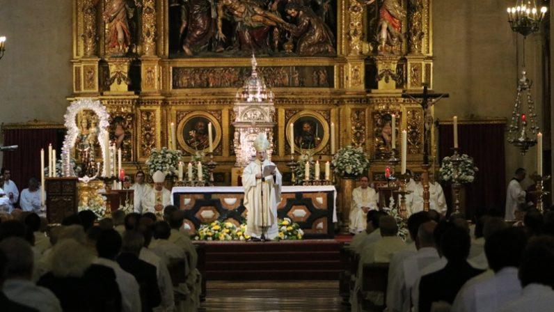 La Parroquia del Sagrario conmemora el 400 aniversario del inicio de su construcción
