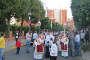 Procesión del Corpus en la Parroquia San Lucas Evangelista