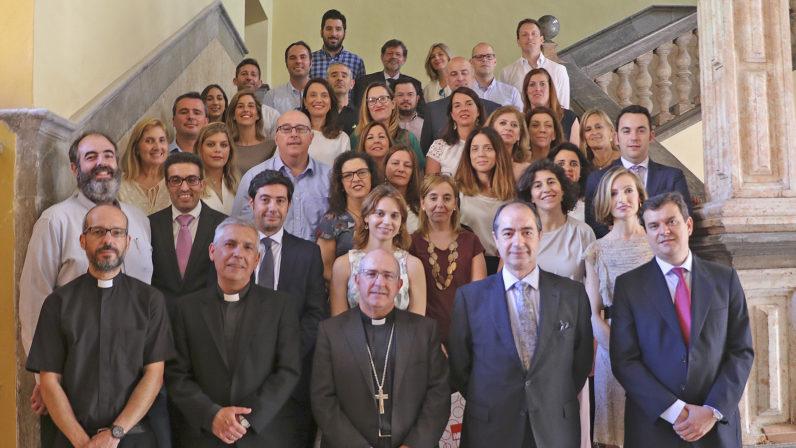 El Obispo auxiliar clausura el curso de Pastoral Educativa de la Fundación diocesana de Enseñanza