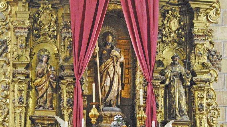 La Parroquia de Santiago el Mayor, de Alcalá de Guadaíra, honra a su patrón