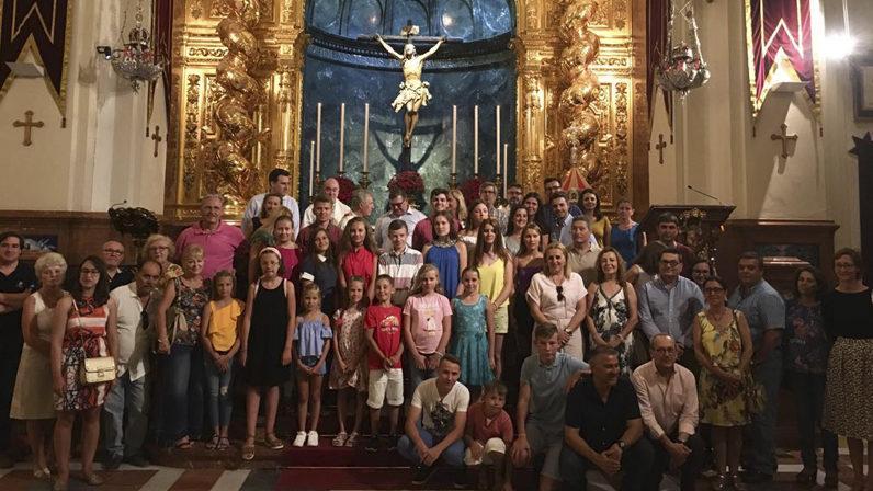 Celebración Ecuménica con niños bielorrusos en la basílica del Cristo de la Expiración