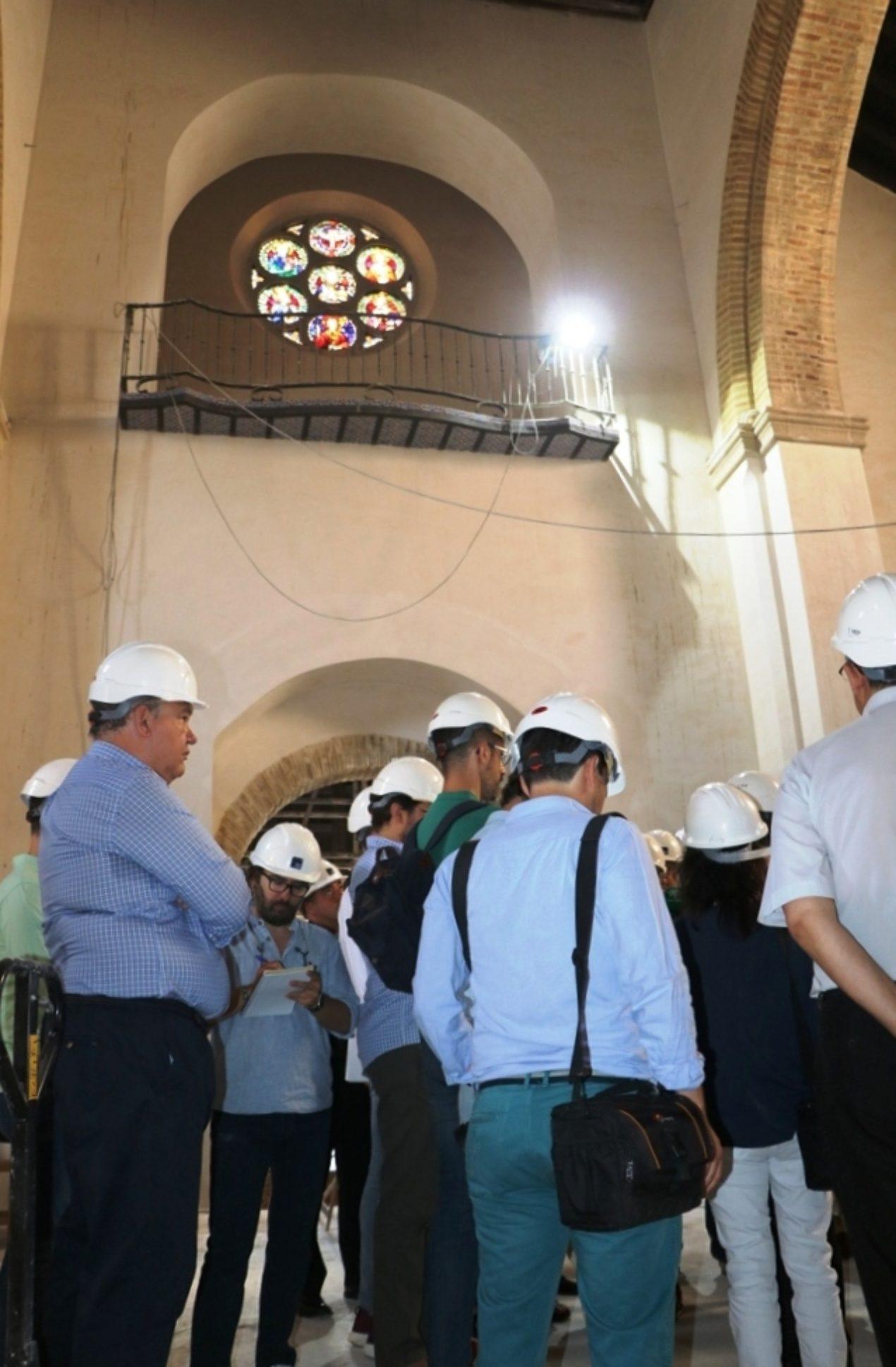 Restauración de la iglesia de Santa Catalina (Sevilla)