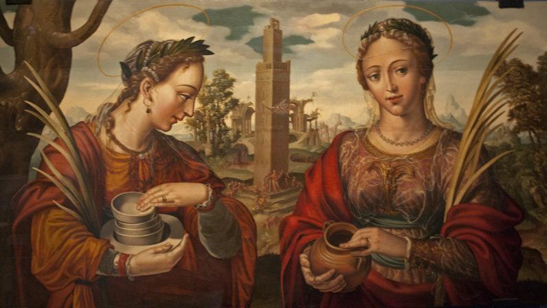 Santas Justa y Rufina. Una devoción a través del arte