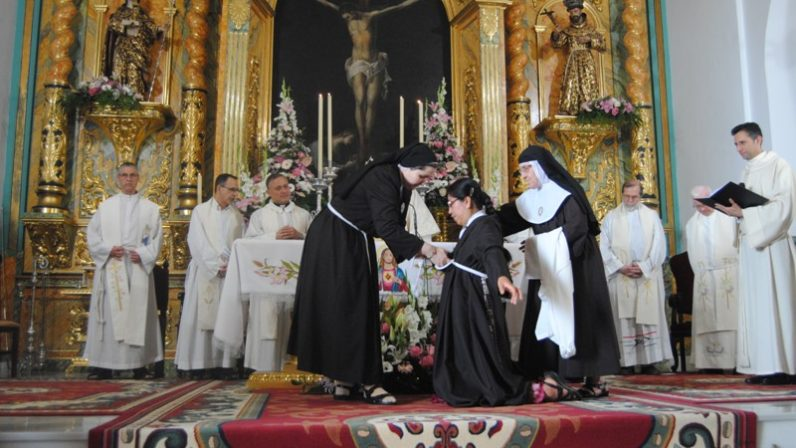 Jornada festiva en el Monasterio de Santa Clara de Alcalá de Guadaira