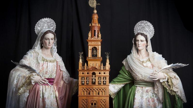 Celebración de las santas Justa y Rufina en Triana