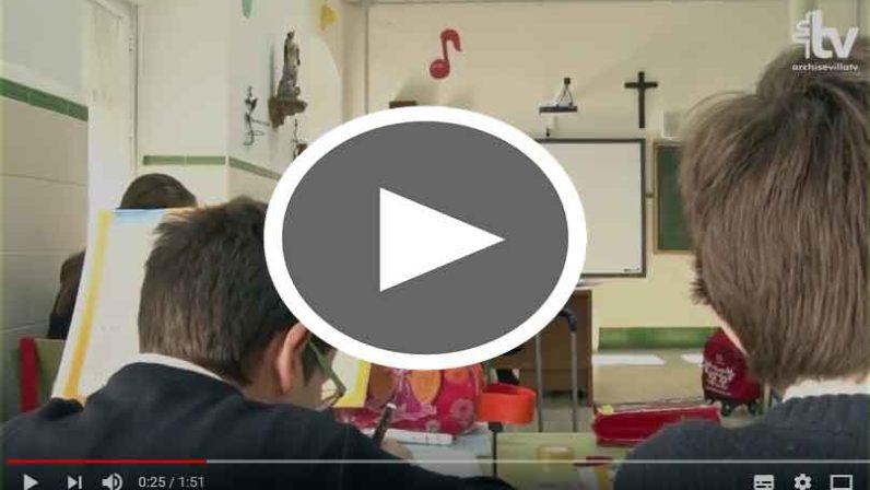 Mons. Asenjo valora muy positivamente la aportación de los Colegios Diocesanos al panorama educativo