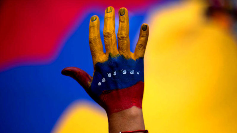 Concierto oración por Venezuela