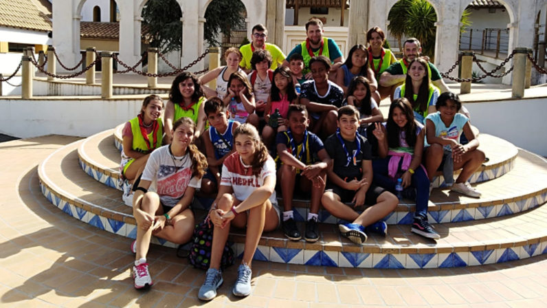 Constantina acoge el Campamento de la Juventud Idente