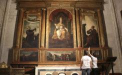 Los trabajos de conservación y rehabilitación de la capilla de San Pedro llegan a su fin