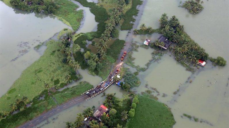 Preocupación en Sevilla por las inundaciones en India