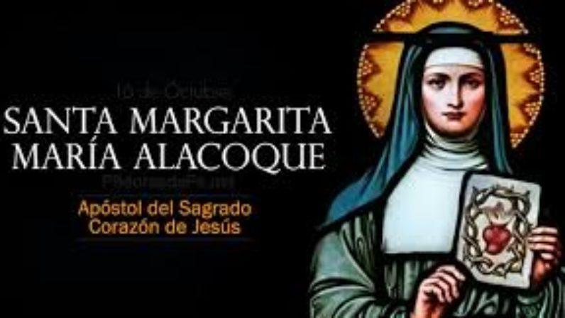 Resultado de imagen para santa Margarita maria Alacoque