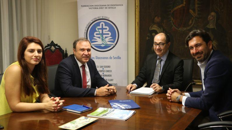 Convenio de colaboración entre la Fundación Victoria Díez y Universidad Loyola Andalucía