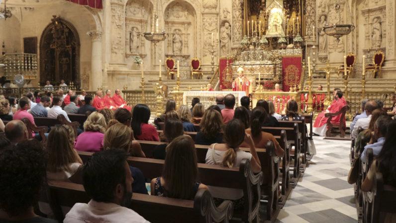 Los colegios diocesanos inician el curso con la celebración de la Eucaristía