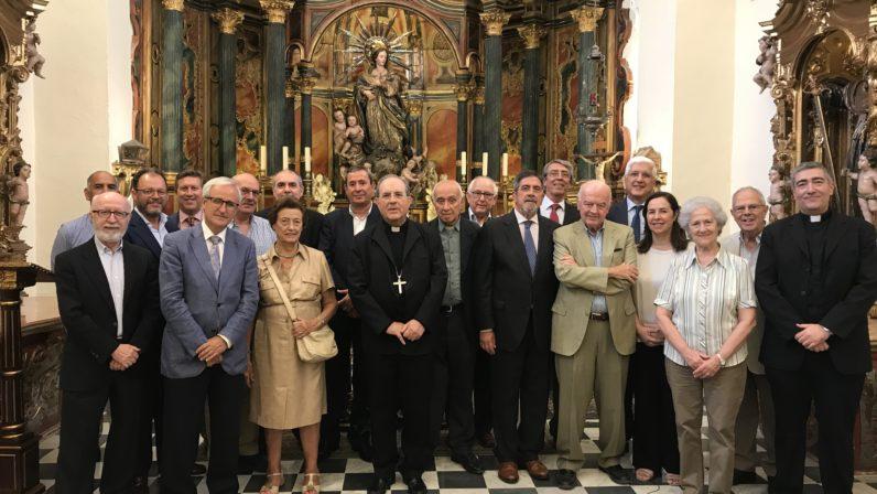 El Arzobispo respalda la labor de la Fundación Cardenal Spínola de Lucha contra el Paro
