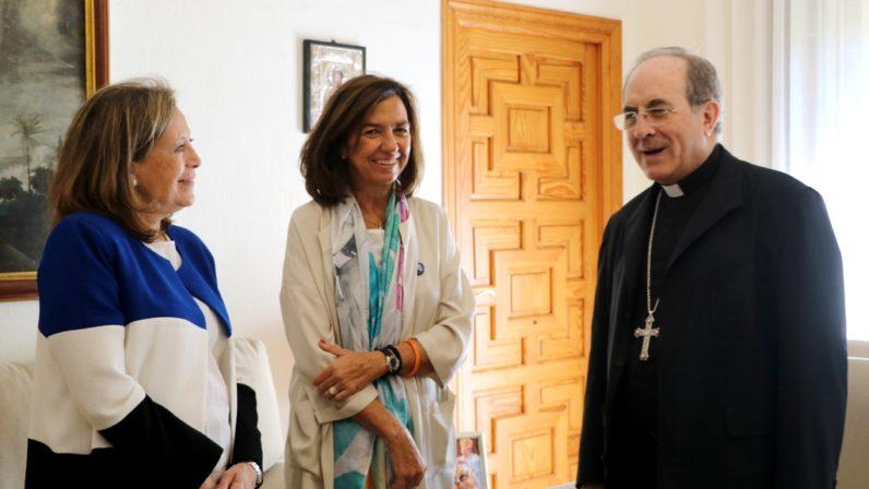 La presidenta de Manos Unidas España visita Sevilla