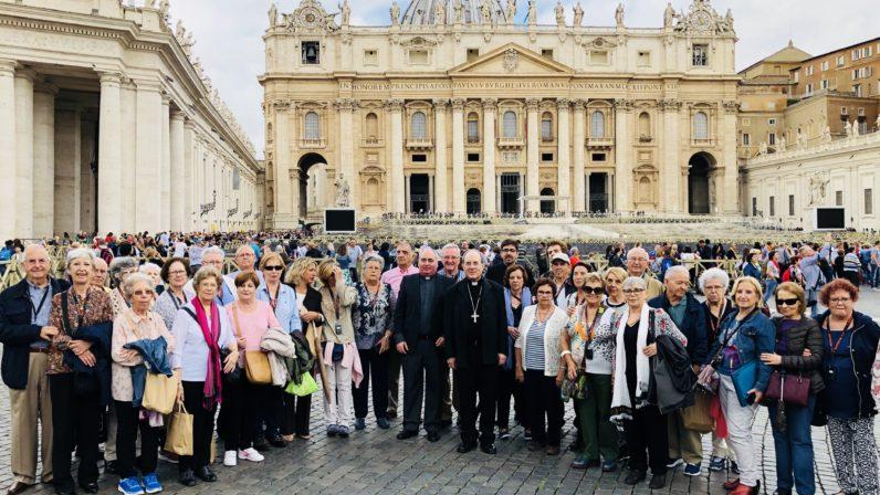 El Arzobispo preside la peregrinación sevillana a Roma