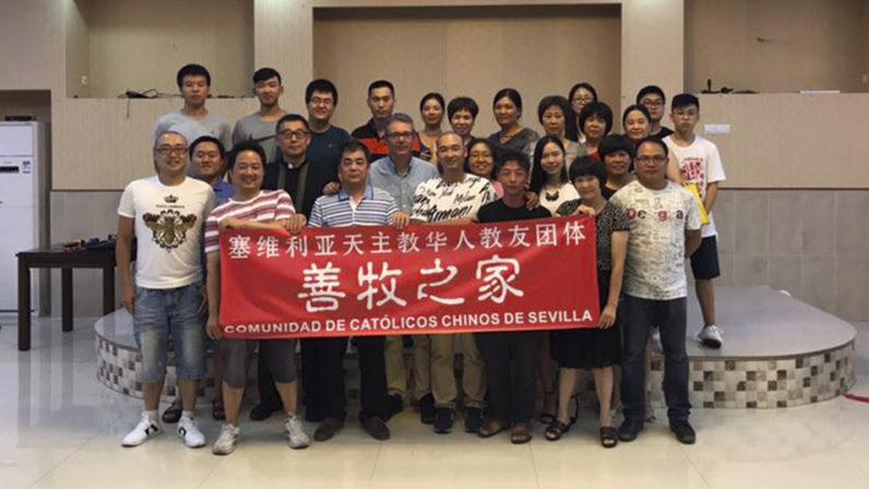 La comunidad católica china de la Archidiócesis se consolida