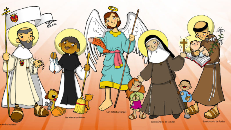 La festividad de Todos los Santos a ojos de los niños