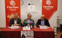 Las Cáritas andaluzas invirtieron en 2017 5,3 millones de euros para atender a más de 6.000 personas sin hogar