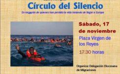 Círculo de Silencio por los inmigrantes fallecidos