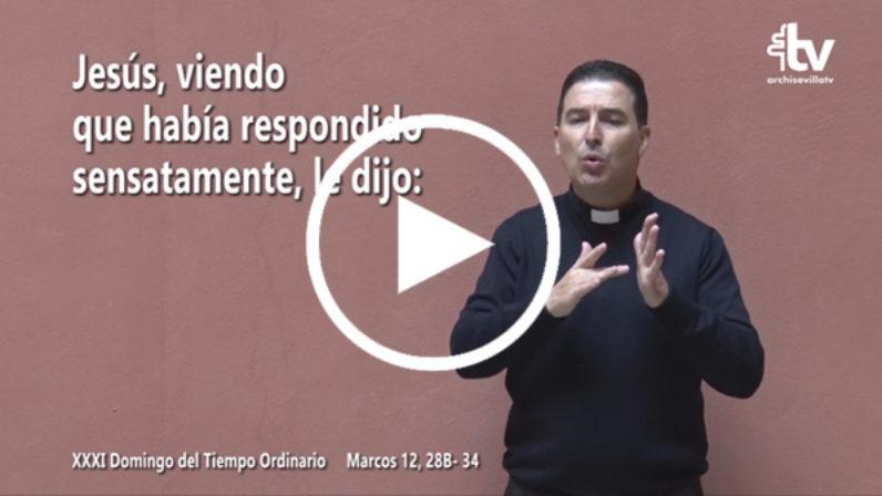 Evangelio del 4 de noviembre en Lengua de Signos Española