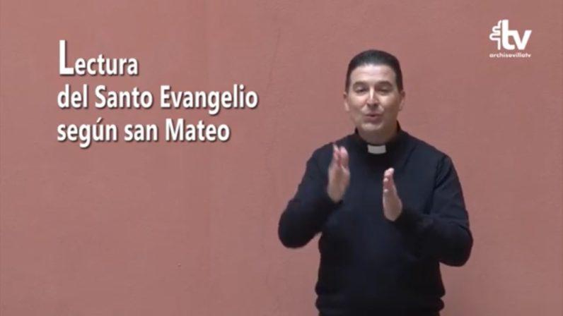 El Evangelio dominical en Lengua de Signos