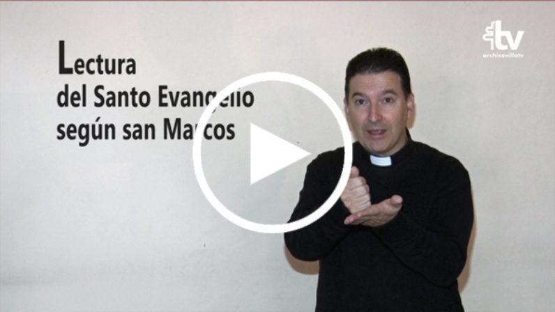 Evangelio del 18 de noviembre en Lengua de Signos Española
