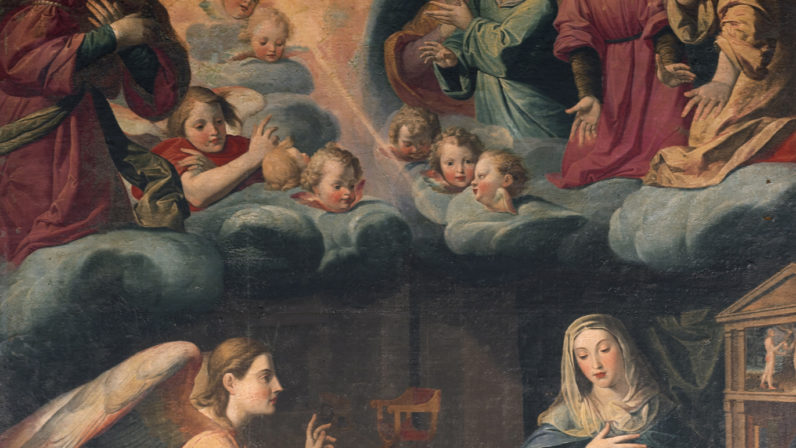 La Anunciación. Iglesia de la Anunciación, de Sevilla
