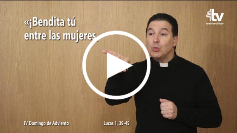Evangelio del 23 de diciembre (IV Adviento) en Lengua de Signos Española