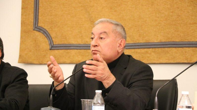 Rueda de prensa del Arzobispo de Alepo