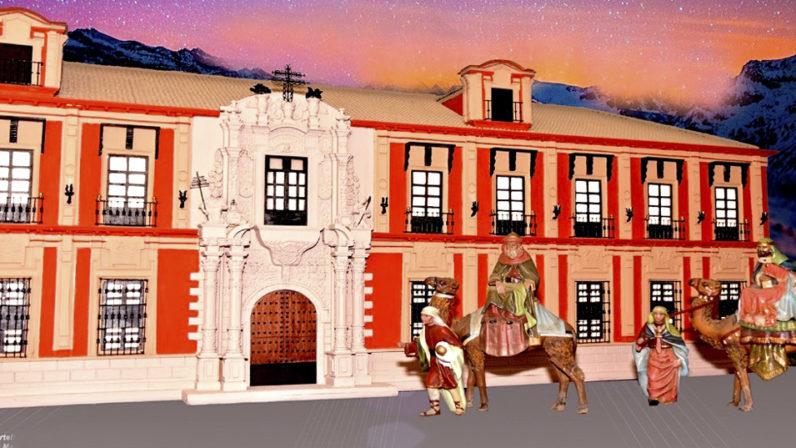 Belén de la Solidaridad dedicado al Palacio Arzobispal de Sevilla