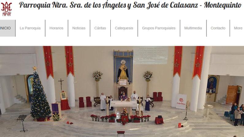 La Parroquia Nuestra Señora de los Ángeles y San José de Calasanz estrena página web