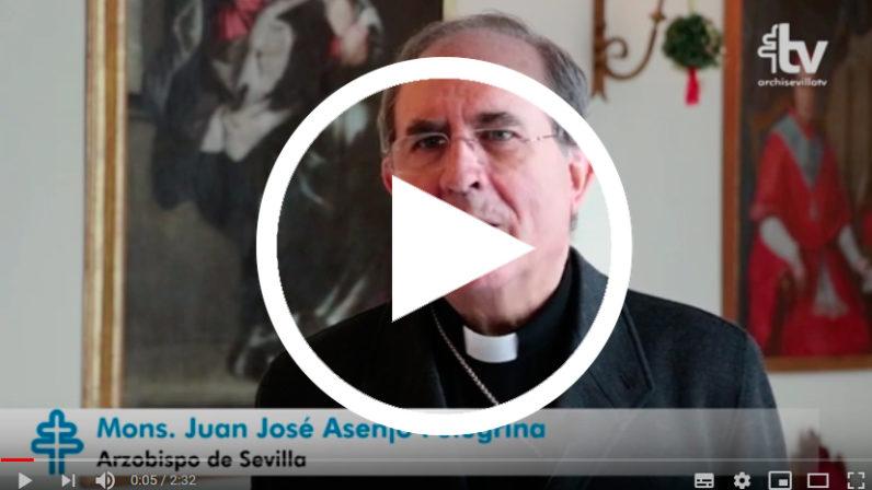 Felicitación de Navidad del Arzobispo de Sevilla