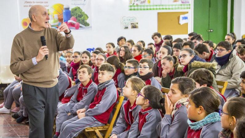 La delegación de Misiones participa en la Semana Misionera del Colegio la Inmaculada