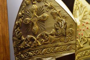 Muestra de tejidos del trascoro de la Catedral de Sevilla