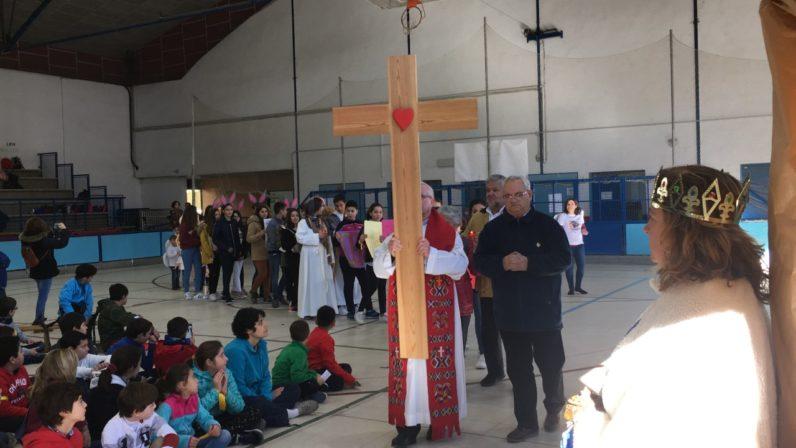 El Colegio Claret acogió la fiesta de la Infancia Misionera en Sevilla
