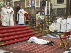Ordenación presbiteral de Fray Jesús E. de María y José, ocd