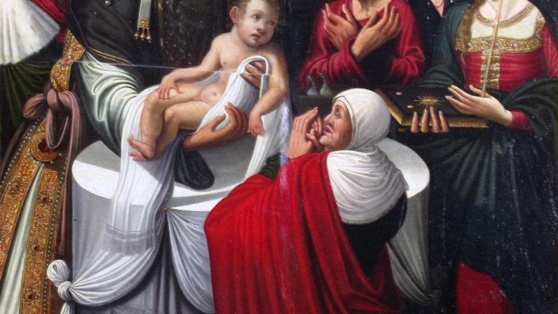 La Presentación del Niño Jesús al Templo (Carmona)