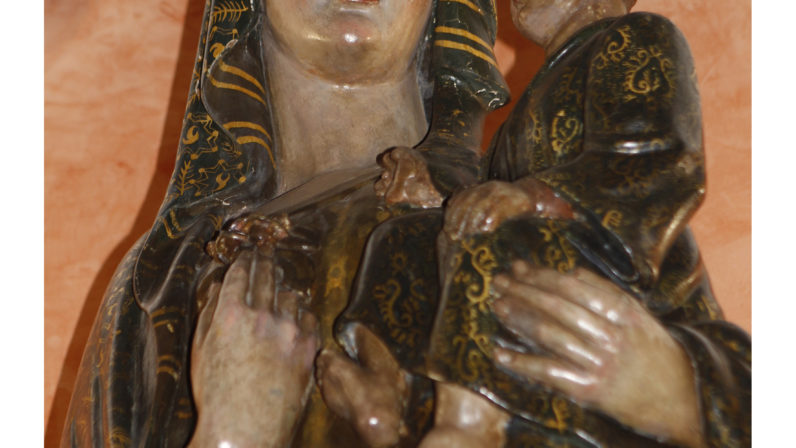 La Virgen de la Antigua (Parroquia de de Ntra. Sra. de la Antigua de Sevilla Este)